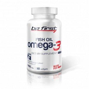 Пищевая добавка Be First Omega-3 + витамин Е 90 caps