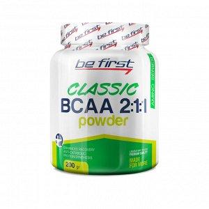 Аминокислота БЦАА Be First BCAA 2:1:1 CLASSIC powder 200 гр