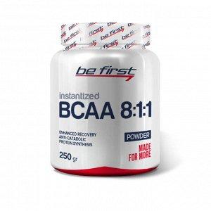 Аминокислота БЦАА Be First BCAA 8:1:1 INSTANTIZED powder 250 гр