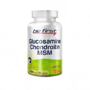 Для суставов и связок Be First Glucosamine+Chondroitin+MSM Hyper Flex 120 tab
