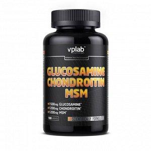 Для суставов и связок VPLab Glucosamine & Chondroitin & MSM 180tab