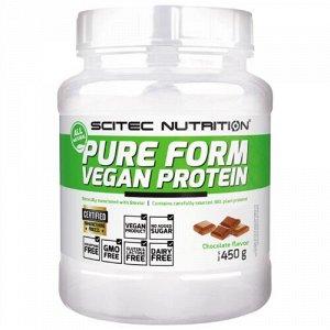 Протеины Scitec Nutrition Pure Form Vegan Protein 450 g