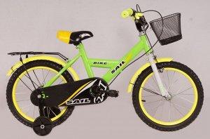 Велосипед детский 2-х колесный SAIL 14 д. HD-026 (15,3) (1/2) зеленый