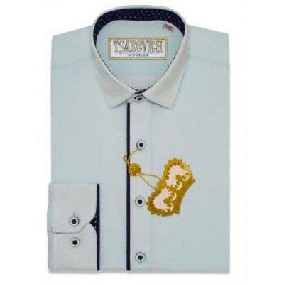 Царевич-детская сорочка это классика для школы — Рубашки детские комбинированные д/р Tsarevich