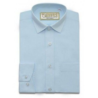 Царевич-детская сорочка это классика для школы — Рубашки детские однотонные д/р Tsarevich