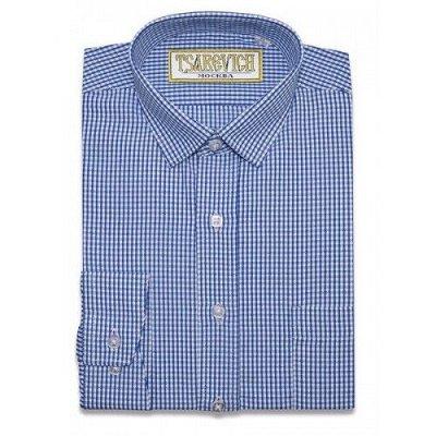 Царевич-детская сорочка это классика для школы — Рубашки детские пестротканныее д/р Tsarevich