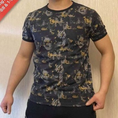Your Style! Стильная одежда от 42 до 70 размера — Майки, футболки мужские