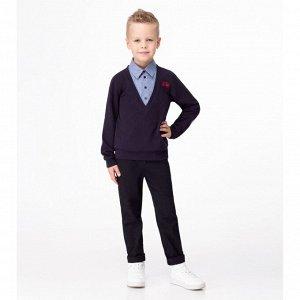 Джемпер для мальчика Темно-синий
