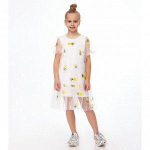 Комплект для девочки (платье, платье) Мультиколор