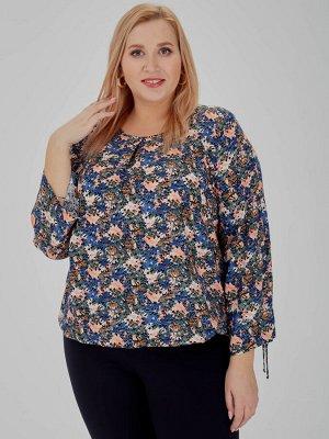 Блуза Varra д/р 2014604 (М)  многоцветный