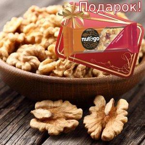 Грецкий орех бабочка + Батончик Nut N Go 42 гр