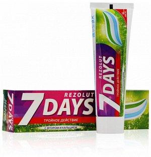7 days Зубная паста компл. Тройное действие д/ежд исп 100 мл.
