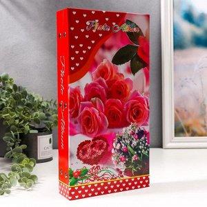 """Фотоальбом на 300 фото 10х15 см """"Розы"""", микс"""