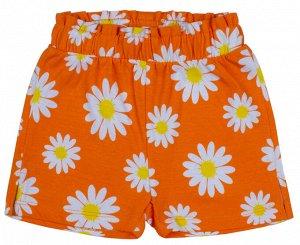 Шорты для девочки оранжевый