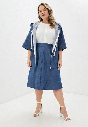 Юбка джинсовая расклешенная Varra 2014700  синий