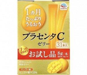 Японское плацентарное желе с экстрактом манго
