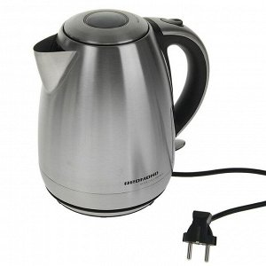 Чайник электрический Redmond RK-M113, металл, 1.7 л, 2000 Вт, серебристый