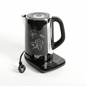 Чайник электрический Redmond RK-M170S, 2400 Вт, 1.7 л, управление со смартфона, черный