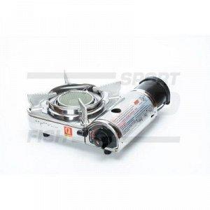 Плита газовая NaMilux одноконфорочная нерж сталь керамика в кейсе 256x205x102 мм