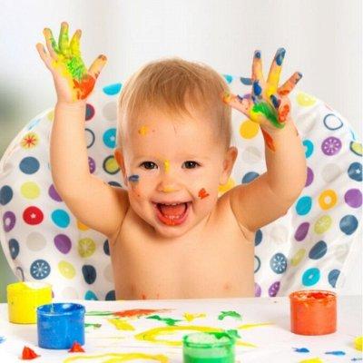 HATBER и ко — канцелярия скидки только до 29 июня — ЮНЛАНДИЯ-Краски пальчиковые
