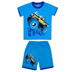 Комплект для мальчиков голубой