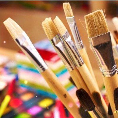 HATBER и ко — канцелярия скидки только до 29 июня — Кисти школьные и все для рисования