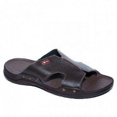 Рос обувь мужская, женская с 32 по 48р натуральная кожа+sale — Кожаные тапки