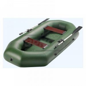 Лодка гребная МЛ Аква-Оптима 260 разм 260х120х34 см 2 места 2 отсека г/п 220 кг