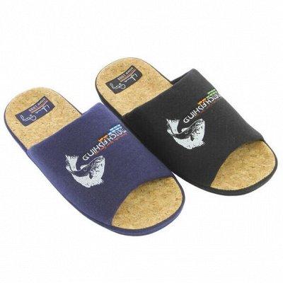 Большой выбор домашней и пляжной обуви. PLUSH-идея на подарок — Тапочки мужские