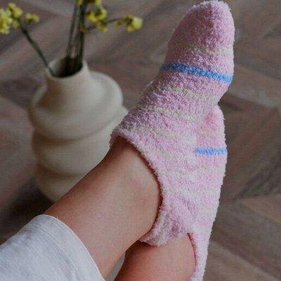 Большой выбор домашней и пляжной обуви. PLUSH-идея на подарок — Домашние носочки PLUSH