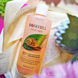 Тонер для лица Enough с муцином улитки - Rosehill Snail Skin 90%, 300 мл
