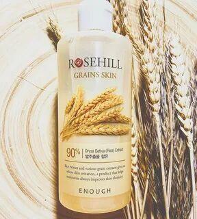 Тонер для лица с экстрактом риса и центеллы Enough Rosehill Grains Skin 300 мл