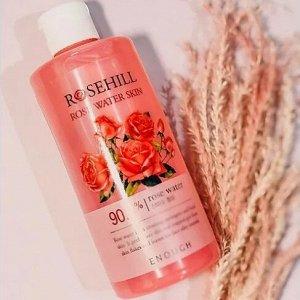 Тонер для лица с розовой водой Enough Rosehill Rose Water Skin 300мл