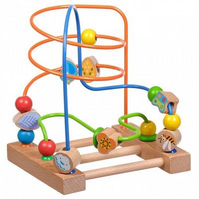 Мир деревянных игрушек — Лабиринты с бусинками