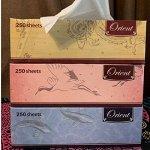 Салфетки бумажные 3 пачки по  250 двойных листов
