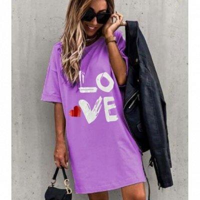 ЭКСПРЕСС! Супер хитовые футболочки от 135руб — Туники от 42 до 56 размера