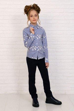 "Рубашка-блузка для девочки ""Лампочки"""