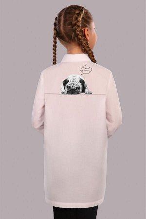 Рубашка-блузка для девочки