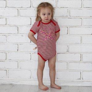 Боди Количество в упаковке: 1; Артикул: МИЛ-015.1/ЛА; Цвет: Розовый; Ткань: Интерлок; Состав: 100% Хлопок; Цвет: Розовый | Серый | Серый | Серый | Тёмно-синий | Лиловый Боди-Лодочка с коротким рукаво
