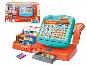 """Shantou. Набор """"Супермаркет"""" игровая панель, калькул, сканер, касса с деньгами, арт.ZY1141473"""