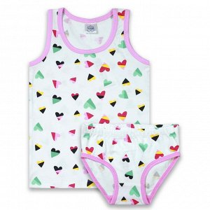 Комплект для девочки розовый