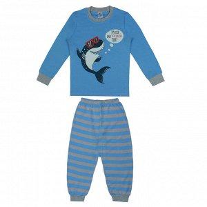 Пижама для мальчика голубой