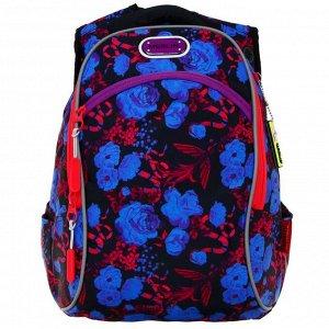 Рюкзак молодежный эргоном.спинка Merlin G15 43*29*15 дев, сирен/роз/зел/гол G15-12-3
