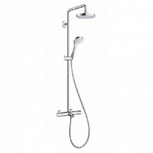 Душевая система Hansgrohe Croma Select S 180 Showerpipe 27351400, 2 режима