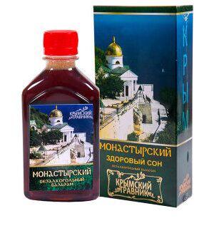 Бальзам Монастырский (здоровый сон)