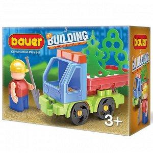 "Bauer.656 Конструктор ""Стройка"" набор с грузовиком"
