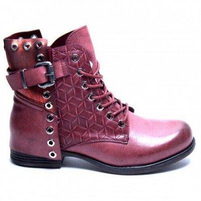 Обувь на любой вкус и кошелек-27. Большая распродажа до -90% — Полусапожки весна-осень от 582 руб! Скидки до 90%