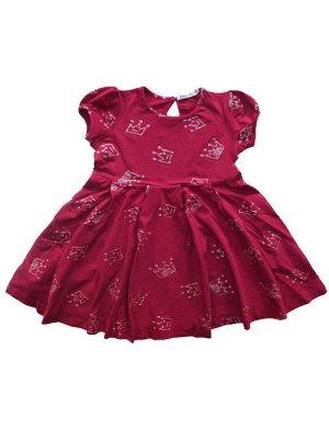 Платье для девочки бордовый