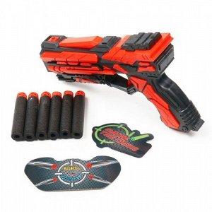 """Набор игровой """"Fengjia"""" Красное оружие:Бластер К-18, EVA пули 6 шт, 18,5 см ,22*5*27 см"""
