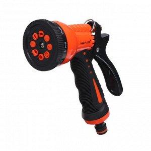 Пистолет-распылитель, 8 режимов, штуцер под коннектор, пластик